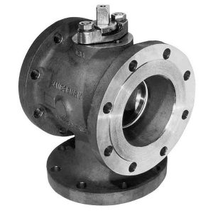 Metso Jamesbury 3 way ball valve