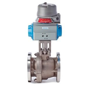 actuated jamesbury series 9000 valve