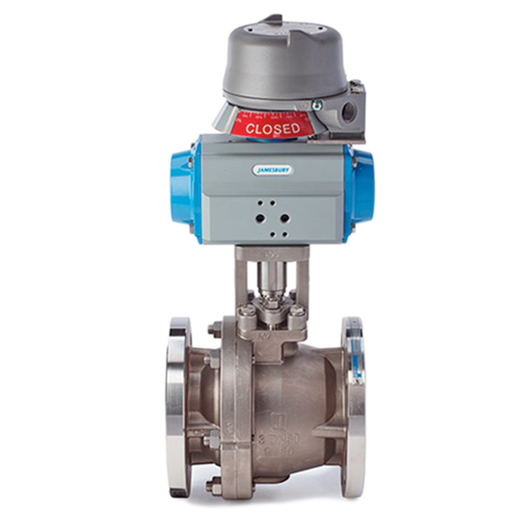 actuated jamesbury series 9000 valve