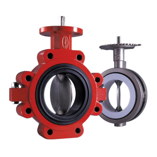 Ultraflo Series 399 392 Butterfly Valve